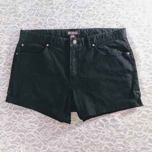 Michael Kors Black Cut Off Shorts Chino Style